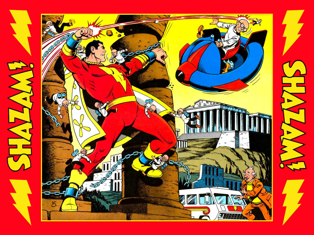 Wallpaper Calendar Superhero : Dc calendar of disasters shazam dec by