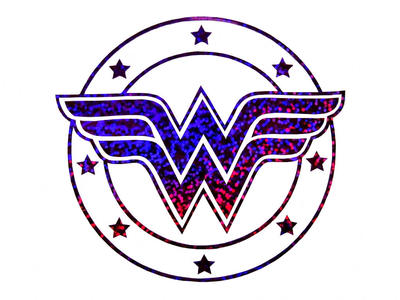 wonder woman glitter decal wallpaper by superman8193 on