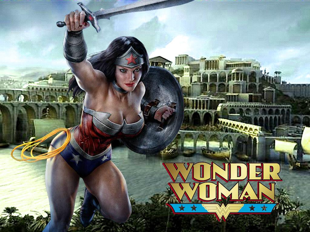 Wonder Woman Themyscira - Infinite Crisis Game by Superman8193