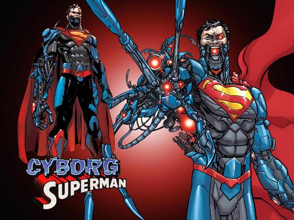 New 52 Cyborg S... Cyborg Superman New 52