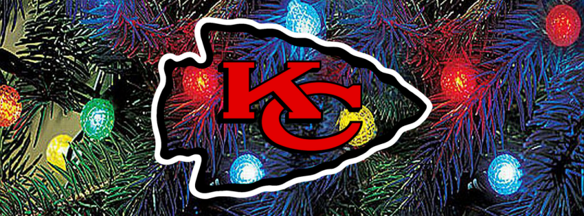 Kansas City CHIEFS Christmas Lights FaceBook Cvr By Superman8193