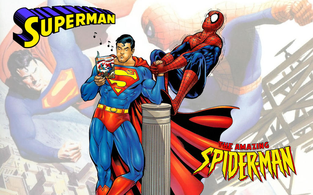 Superman vs Spiderman Arm Wrestling WS 2 by Superman8193 ...
