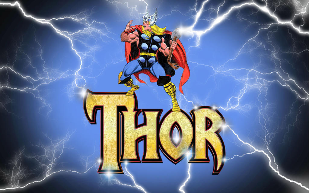 Thor - God of Thunder by Superman8193