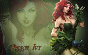 Poison Ivy by Artgerm 2 by Superman8193