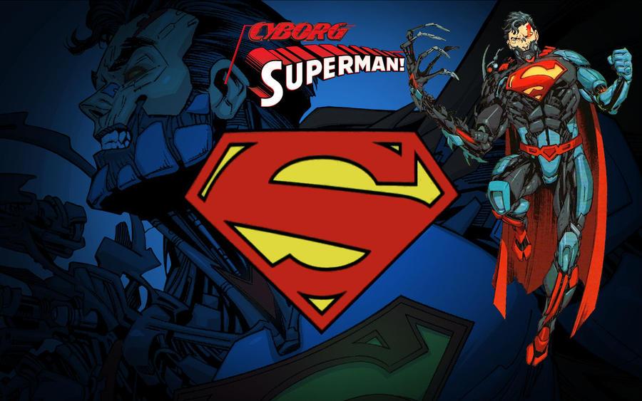 Superman New 52... Cyborg Superman New 52