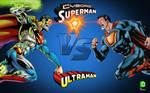 Cyborg Superman vs Ultraman!
