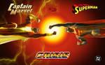 Captain Marvel vs Superman!