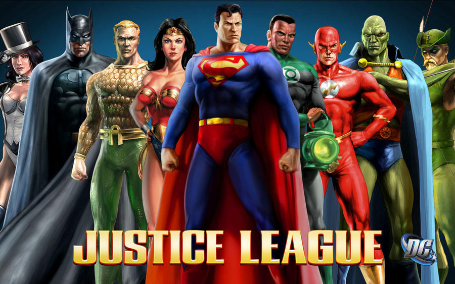Justice League Heroes By Superman8193