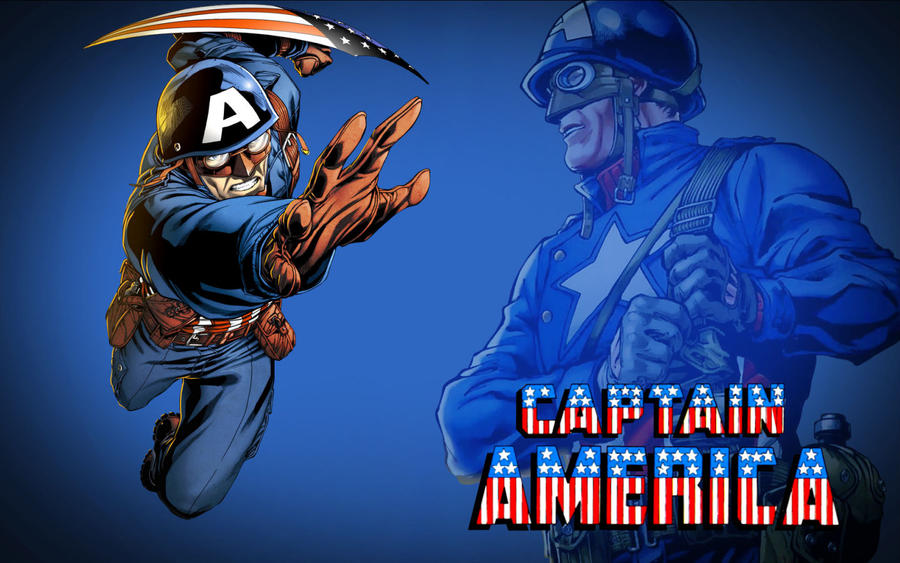 Captain America WWII! by Superman8193