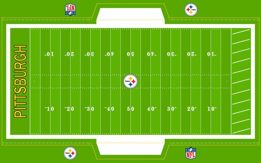 Football Field Steelers By Superman8193 On Deviantart