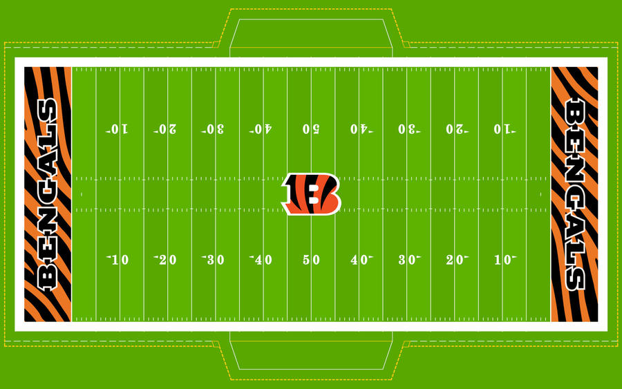Football Field - BENGALS! by Superman8193
