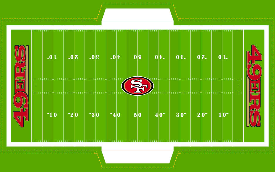 Football Field - 49ERS! by Superman8193