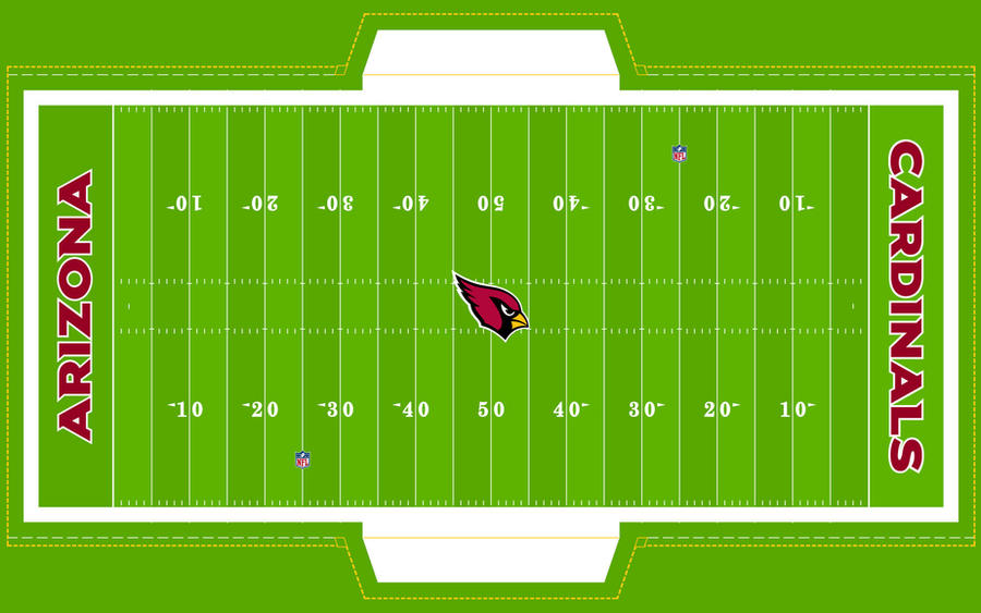 Football Field - CARDINALS! by Superman8193