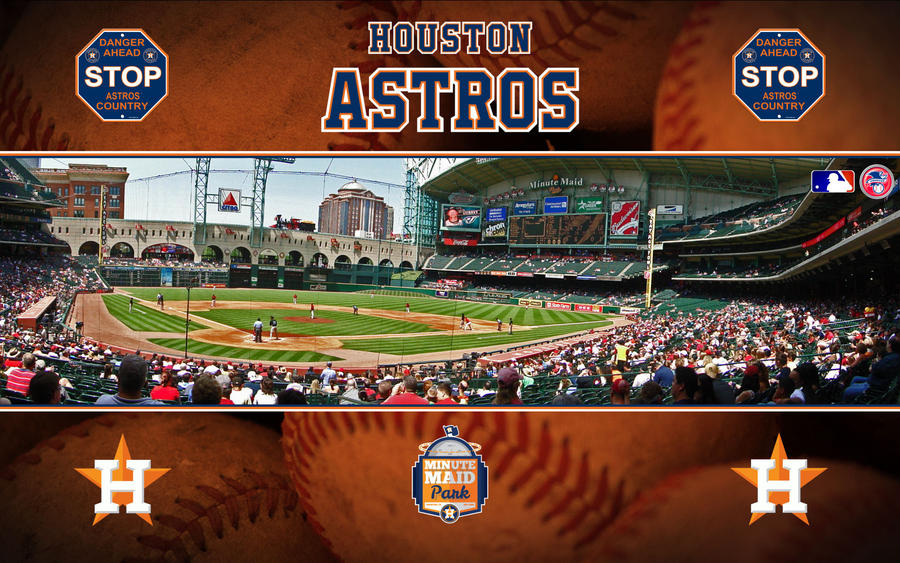 mlb houston astros minute maid park by superman8193