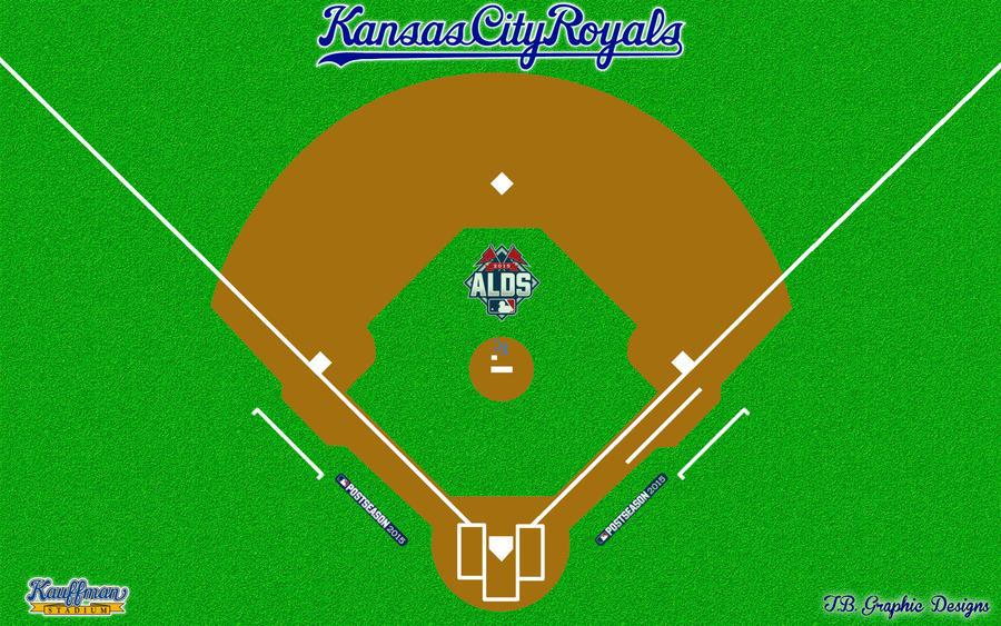Royals Postseason ALDS Ball Field! by Superman8193