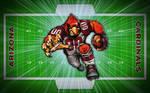 Football Field Fathead - Cardiac Cardinal!