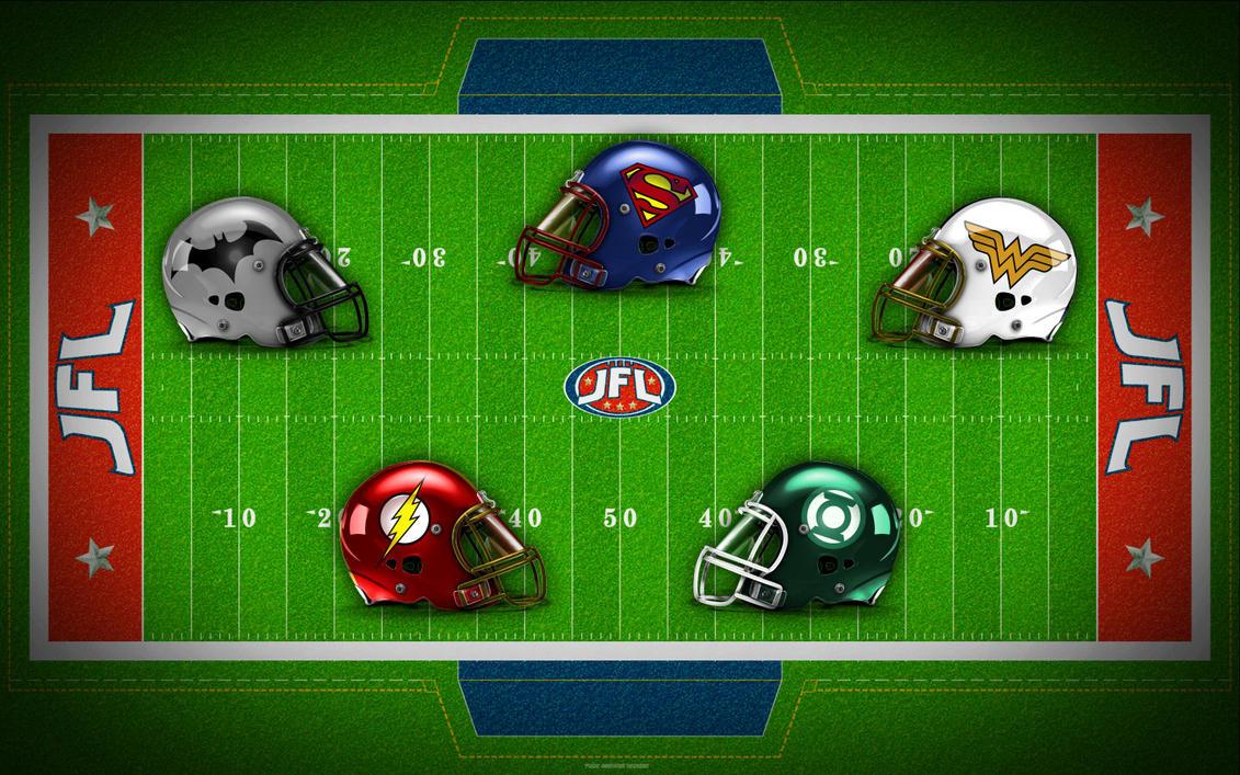 Helmets of the JFL! by Superman8193
