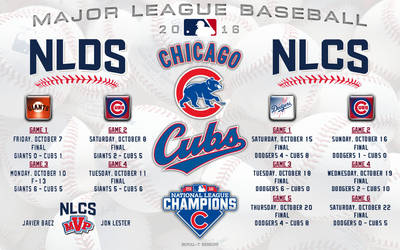 Chicago Cubs 2016 Postseason