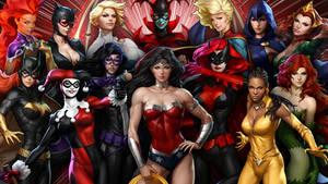 DC Girls by ARTGERM 2