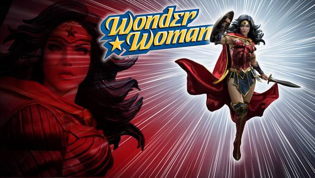 Wonder Woman Rebirth Statue