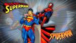 Superman vs Spiderman by Superman8193