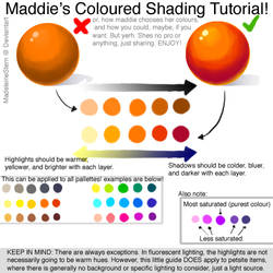 Coloured Shading Tutorial - How to pick a palette