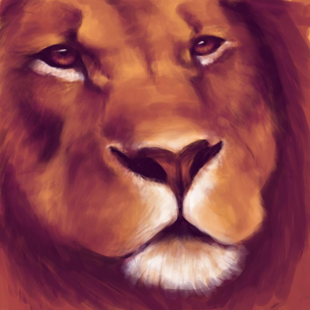 Lion - WIP by caughtinthehurricane