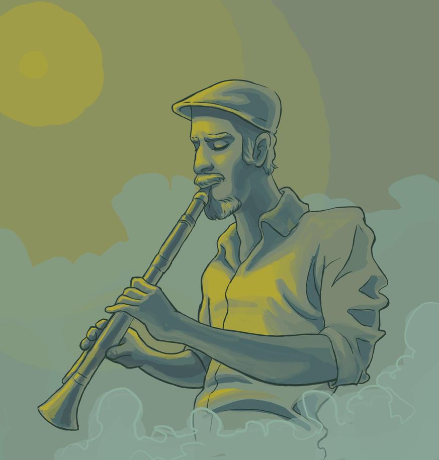 jazz man by saravami