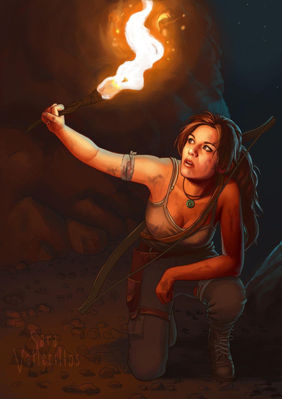 Tomb Raider by saravami