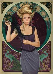 Lady Peacock by saravami