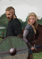 Vikings by saravami