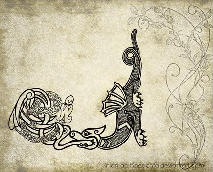 Dragon + knotting