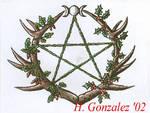 Pagan tattoo design