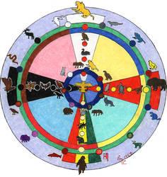 native american wheel by Refiner