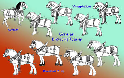 German brewery harness by Refiner