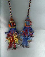 beaded tassels by Refiner