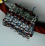 Red RAW Bead by Refiner