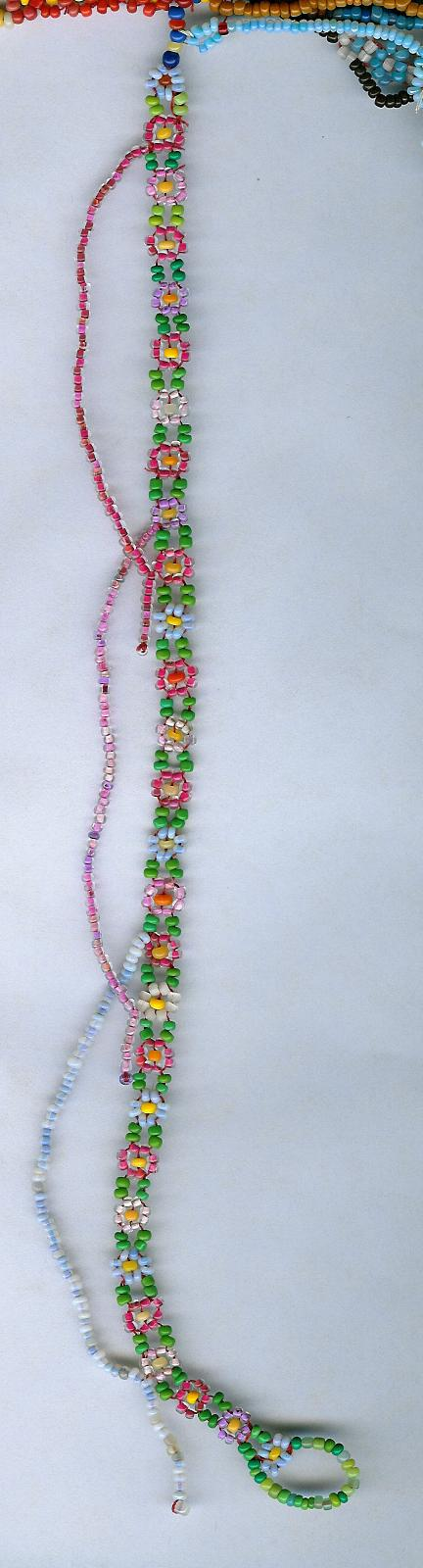 Rosy Lazy Daisy Chain by Refiner