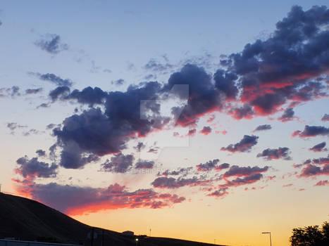 Sunrise over Lewiston Idaho
