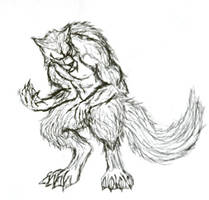 Werewolf by LoneWolfSones