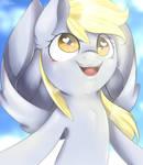 A mare in the sky + Speedpaint