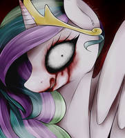 Nightmare Celestia by okaces