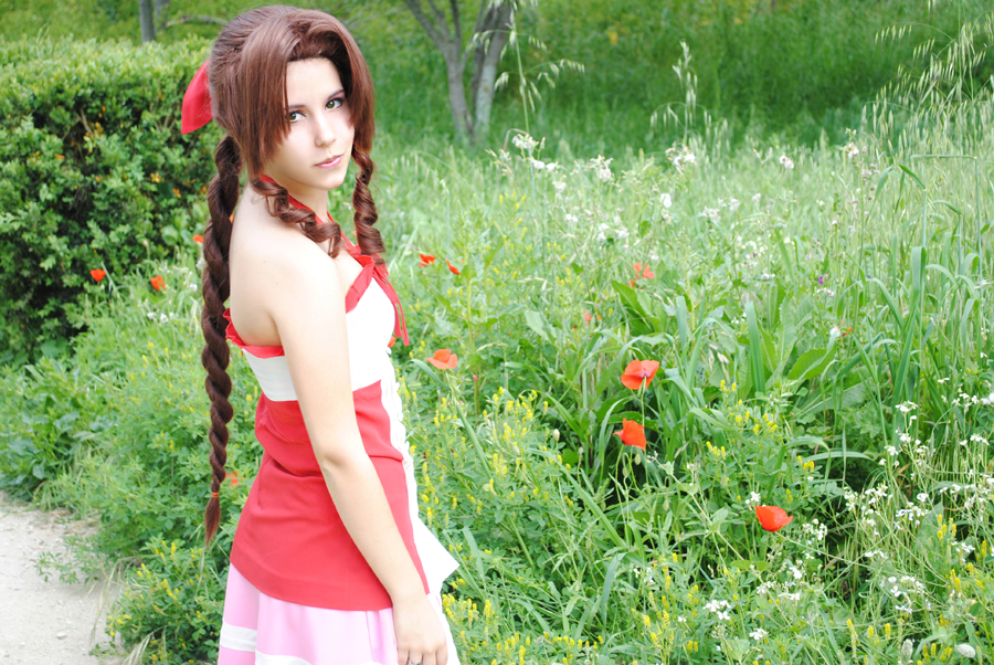 Aerith - Kingdom Hearts by sophie-art