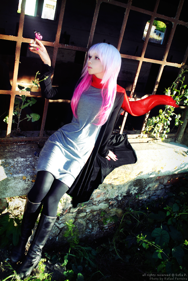Inori Yuzuriha - All alone with you by sophie-art