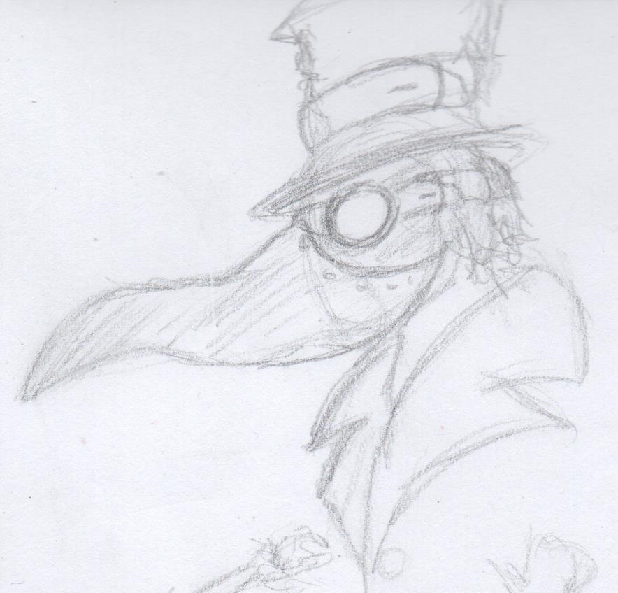 Plague doctor by fcocarlos