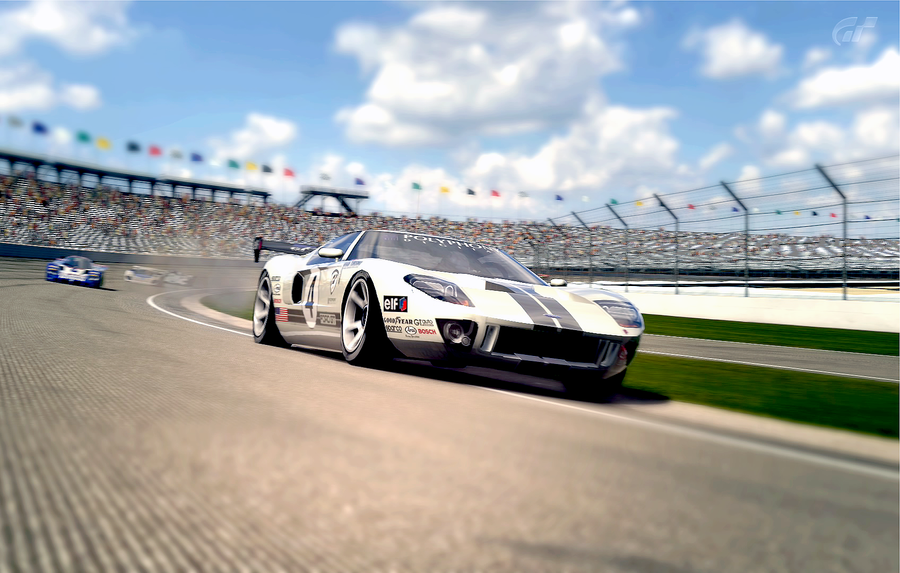 Ford Gt Spec Ii Race Car