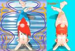 Frankie Pseudo Mermaid art-nouveau 01 by Westerlund1-26