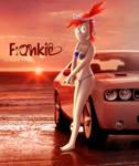 Frankie bikini-challenger by Westerlund1-26