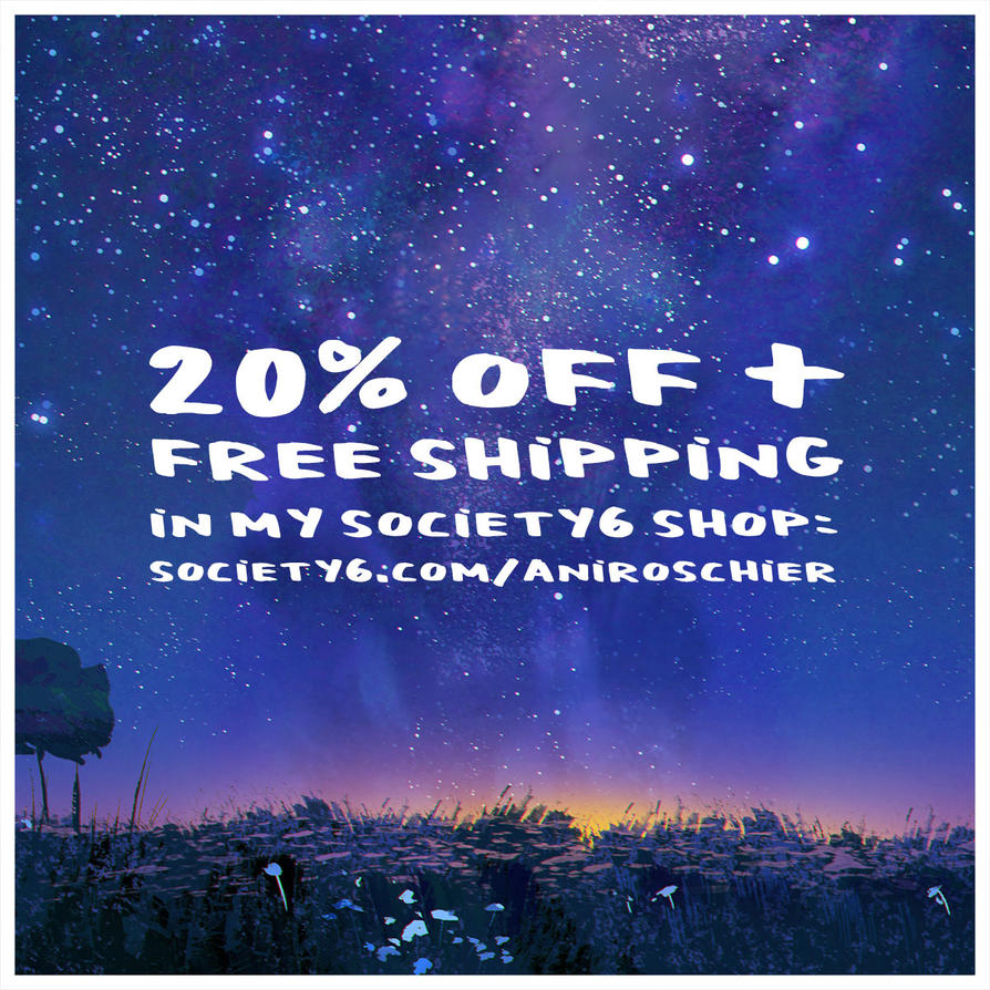 PROMO 20 off and free shipping by ani-r