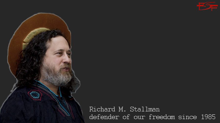 Wallpaper de Richard M. Stallman
